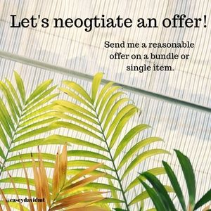 Let's negotiate an offer!